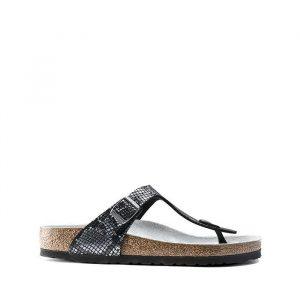 נעליים בירקנשטוק לגברים Birkenstock Gizeh - אפור מלא