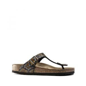 נעליים בירקנשטוק לגברים Birkenstock Gizeh - חום הסוואה