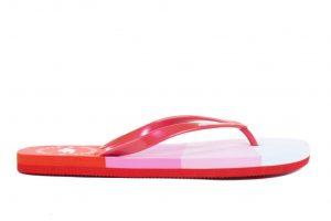 נעליים פור אף לנשים 4F H4L20 KLD004 - אדום