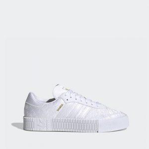 נעלי סניקרס אדידס לנשים Adidas Originals Sambarose - לבן מלא