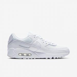 נעלי סניקרס נייק לנשים Nike AIR MAX 90 - לבן