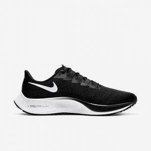 נעליים נייק לגברים Nike Air Zoom Pegasus 37 - שחור/לבן