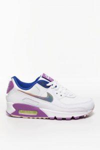 נעליים נייק לנשים Nike Air Max 90 SE - צבעוני/לבן