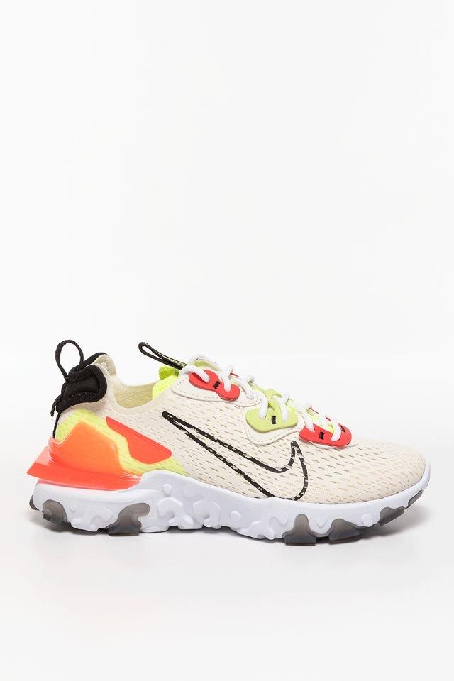נעלי סניקרס נייק לנשים Nike REACT VISION ESS - צבעוני בהיר