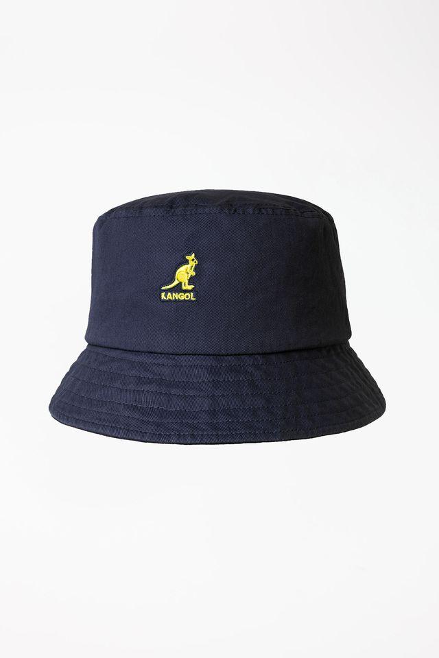 כובע קנגול לגברים Kangol WASHED BUCKET - כחול כהה