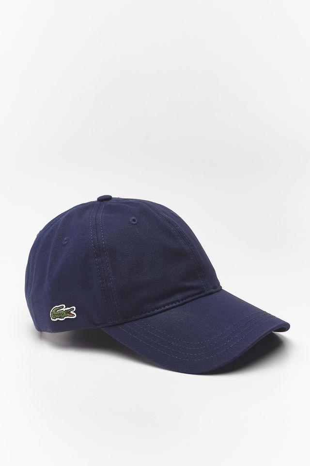 ביגוד לקוסט לגברים LACOSTE CAP - כחול כהה