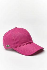 כובע לקוסט לגברים LACOSTE CAP - ורוד