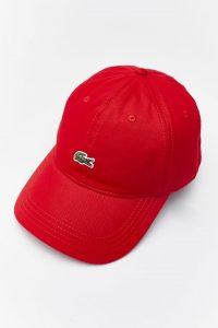 כובע לקוסט לגברים LACOSTE CAP - אדום יין
