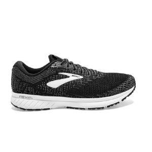 נעלי ריצה ברוקס לגברים Brooks 3 Revel - שחור/לבן