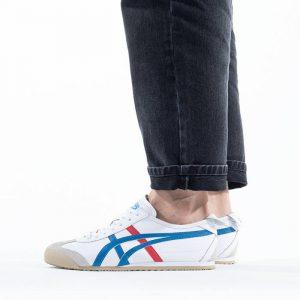 נעלי סניקרס אסיקס טייגר לגברים Asics Tiger Tiger Mexico 66 - לבן/ כחול