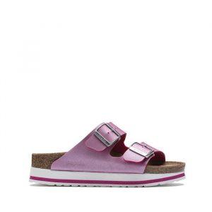 נעליים בירקנשטוק לנשים Birkenstock Papillio Arizona - סגול