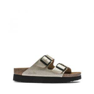 נעליים בירקנשטוק לנשים Birkenstock Papillio Arizona - כסףשחור
