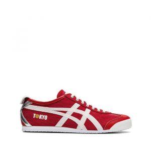 נעלי סניקרס אסיקס טייגר לגברים Asics Tiger Mexico 66 TOKYO - אדום