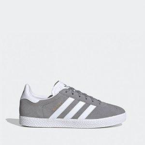 נעליים אדידס לנשים Adidas GAZELLE - אפור/לבן
