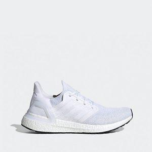 נעלי ריצה אדידס לגברים Adidas Ultraboost 20 - לבן
