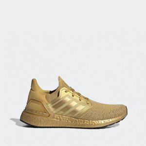 נעליים אדידס לגברים Adidas Ultraboost 20 - זהב