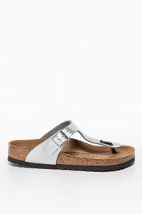 נעליים בירקנשטוק לנשים Birkenstock Gizeh - אפור כהה/חום