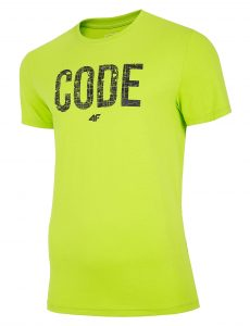 חולצת T פור אף לגברים 4F H4L20 TSM013 - ירוק