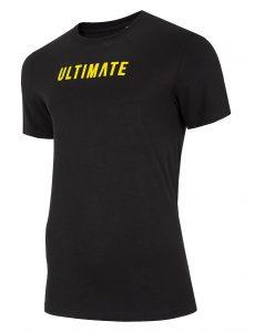 חולצת T פור אף לגברים 4F H4L20 TSM025 - שחור