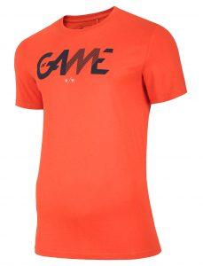 חולצת T פור אף לגברים 4F H4L20 TSM028 - כתום