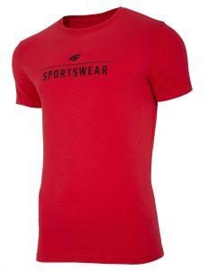 חולצת T פור אף לגברים 4F NOSH4 TSM005 - אדום