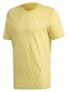 ביגוד אדידס לגברים Adidas MONO AOP - צהוב