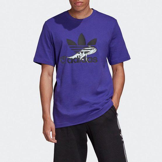 ביגוד Adidas Originals לגברים Adidas Originals PT3 Logo - סגול