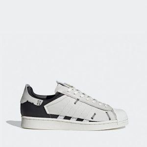 נעלי סניקרס אדידס לגברים Adidas Originals Superstar 2.0 - לבן/שחור