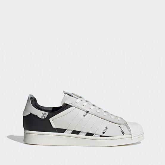 נעליים אדידס לגברים Adidas Originals Superstar 2.0 - לבן/שחור