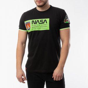 ביגוד אלפא אינדסטריז לגברים Alpha Industries Mars Neon - שחור