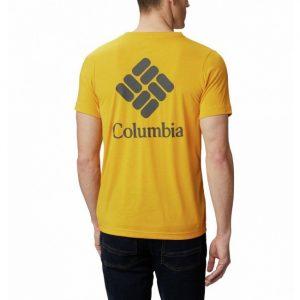 ביגוד קולומביה לגברים Columbia Maxtrail - צהוב