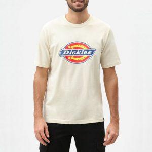 חולצת T Dickies לגברים Dickies Horseshoe Tee - לבן