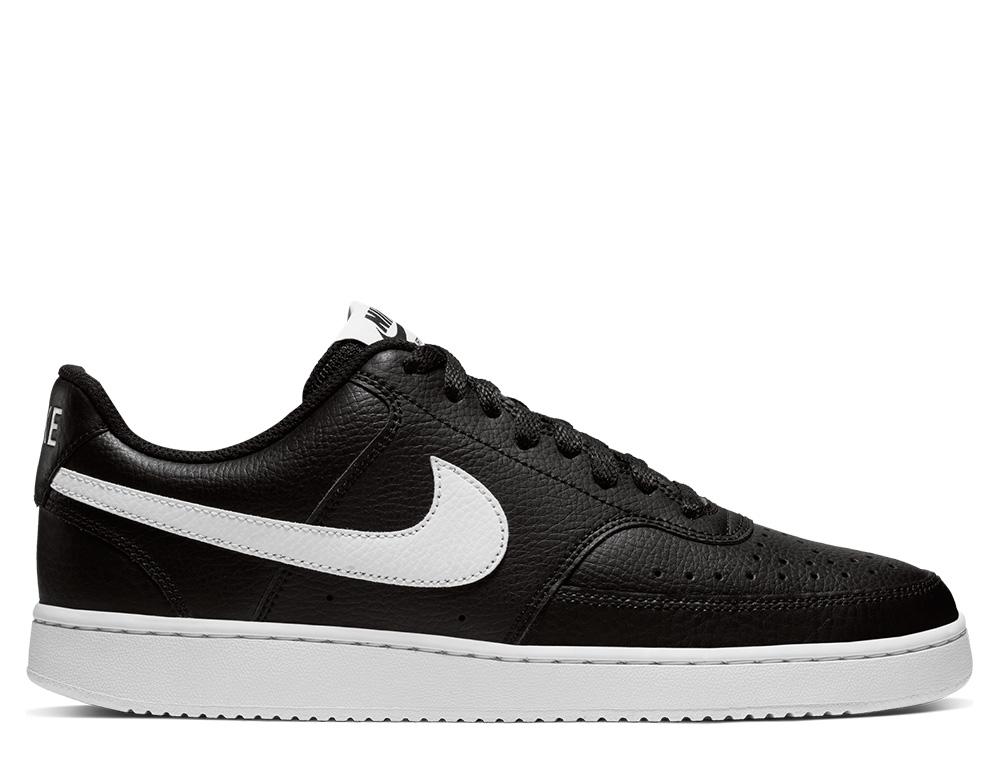 נעלי סניקרס נייק לגברים Nike Court Vision Low - שחור