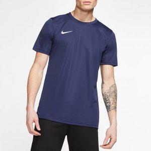 ביגוד נייק לגברים Nike DRY PARK VII JSY SS - כחול כהה