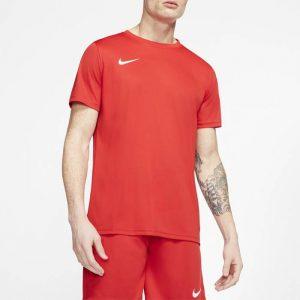 ביגוד נייק לגברים Nike DRY PARK VII JSY SS - אדום