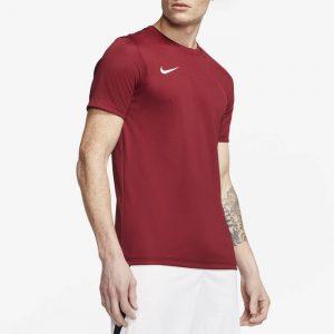 חולצת אימון נייק לגברים Nike DRY PARK VII JSY SS - בורדו