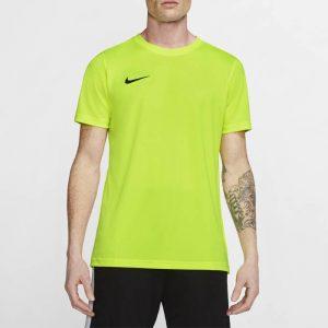 ביגוד נייק לגברים Nike DRY PARK VII JSY SS - צהוב