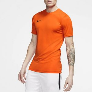 ביגוד נייק לגברים Nike DRY PARK VII JSY SS - כתום
