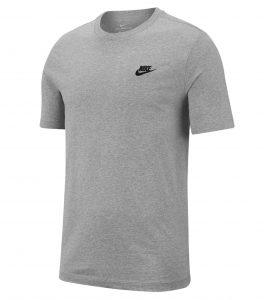חולצת T נייק לגברים Nike NSW CLUB TEE - אפור