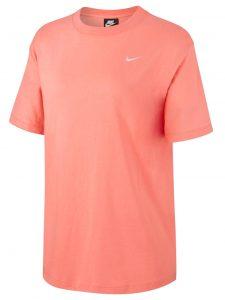 ביגוד נייק לגברים Nike NSW ESSENTL TOP SS - כתום