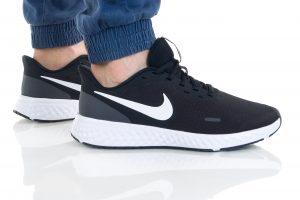 נעלי ריצה נייק לגברים Nike REVOLUTION 5 - לבן/שחור