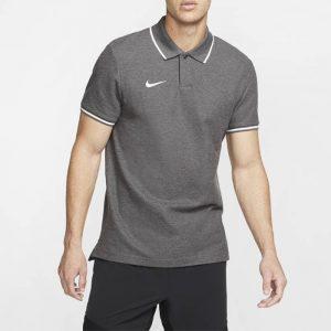חולצת פולו נייק לגברים Nike TEAM CLUB 19 - אפור