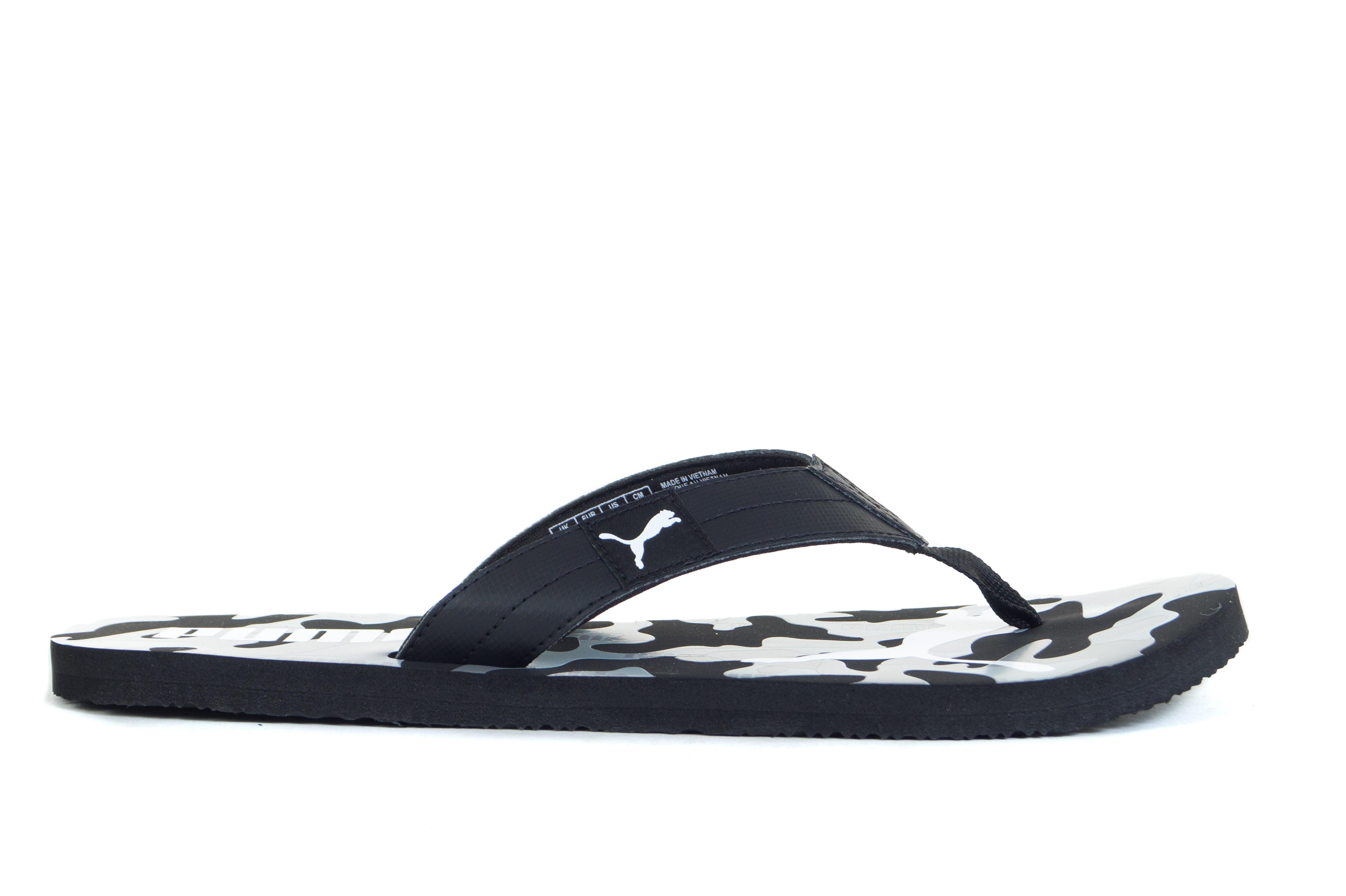נעליים פומה לגברים PUMA COZY FLIP REBEL CAMO - שחור