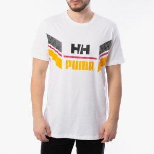 ביגוד פומה לגברים PUMA x Helly Hansen Tee - לבן