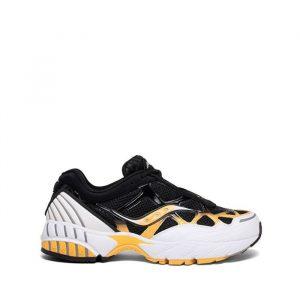 נעליים סאקוני לגברים Saucony Grid Web - שחור/צהוב