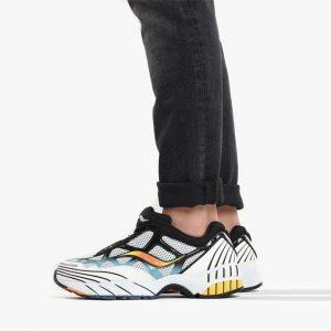 נעליים סאקוני לגברים Saucony Grid Web - לבן