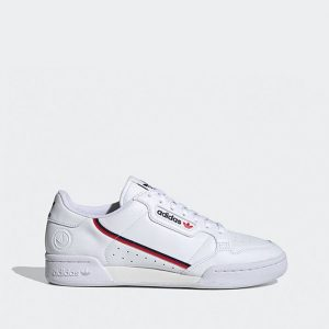 נעלי סניקרס אדידס לגברים Adidas Originals Continental 80 Vegan - לבן