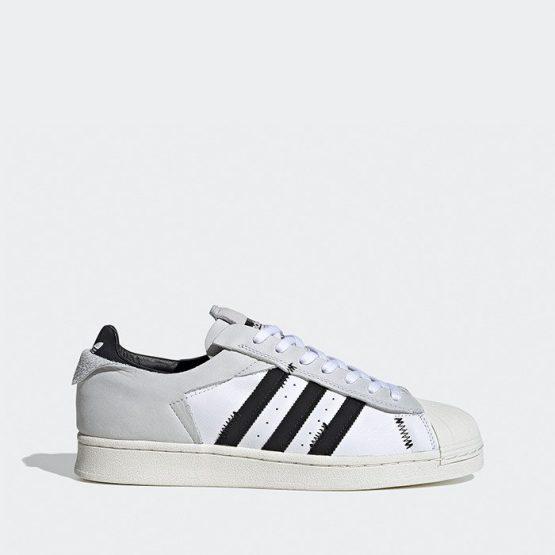 נעליים אדידס לגברים Adidas Originals Superstar - לבן הדפס