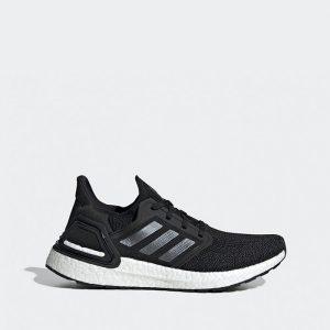 נעליים אדידס לגברים Adidas Ultraboost 20 - שחור/לבן