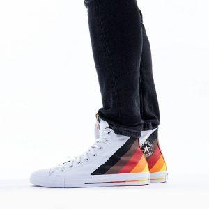 נעלי סניקרס קונברס לגברים Converse Chuck Taylor All Star Pride - לבן